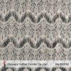 Échancrée de fraisage de la dentelle de coton épais pour les robes (M2052)