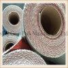 シリコーンの上塗を施してある火毛布によって編むEガラス