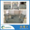 Ampliación de alambre de metal de contenedores de almacenamiento jaula de alambre Contenedor de malla