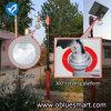 Lumières solaires de garantie et éclairage actionné solaire de jardin avec le panneau solaire réglable
