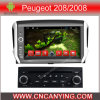 Peugeot 208/2008 (AD-7191)のためのA9 CPUを搭載するPure Android 4.4 Car DVD Playerのための車DVD Player Capacitive Touch Screen GPS Bluetooth