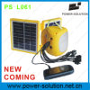2W LED Best Solar Light Factory con il USB Mobile Phone Charger