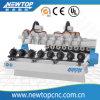 8 axe W2030atc machine CNC de sculpture en 3D, l'Atc CNC Router défonceuse à bois à commande numérique