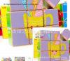 Greensource, película da transferência térmica para de madeira do cubo