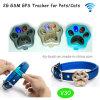Le plus populaire Small Waterproof GPS Tracker pour chats / chiens avec collier réglable (V30)