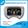 lecteur DVD de 2DIN Auto Radio Car pour Nissans mars avec A8 Chipest, GPS, Bluetooth, écart-type, USB, iPod, MP3, 3G, WiFi Function
