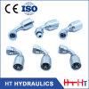 Htの油圧ゴム製ホースのフェルールの販売のための油圧ホースフィッティングの一つの付属品