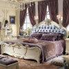 유럽식 호화스러운 가죽 침대 또는 연약한 침대