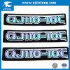 Preiswertes Laser-Abzeichen-Aufkleber-Firmenzeichen-Zeichen-Emblem