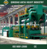 Qh6925 Shot Blast/Blasting Machine per Steel Structure H Beam Surface Cleaning