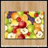 フルーツパターンを持つ着色された緩和されたガラスのまな板