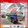 Tri-Axle 50000L de carburant en aluminium semi-remorque citerne du camion