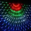 Luz líquida do diodo emissor de luz do Semi-Circle da decoração da luz da corda do Natal