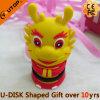 Memoria Flash del USB del dragón para la promoción del regalo de la historieta (YT-6433-10)