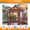 Aluminium/aluminium/pavillon jardin d'Aluminio Exagonal avec les graines en bois