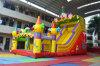 Payaso de circo gigante inflable de diapositivas para un uso comercial Alquiler (CHSL478S)