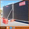 Cerco provisório galvanizado da construção do engranzamento de fio do Au de aço