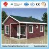 Oficina da construção de aço, casa viva Prefab da casa pré-fabricada moderna