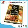 Impression polychrome de livre de cuisinier de la Chine, impression de livre de nourriture