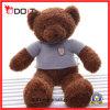Urso animal bonito pequeno da peluche do brinquedo da venda quente com t-shirt