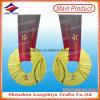 Acabado brillante personalizadas medallas de oro olímpicas en venta