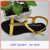 2016 sandali aperti della punta del pistone della spiaggia delle signore di estate