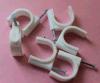 Clips de câble ronds en plastique électriques à 22 mm