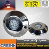 316 subacuáticos luz marina inoxidable Bl-60W del acero LED