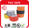 Colores de alta calidad la cinta adhesiva de PVC adhesivo fuerte