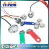 Toque em Informações da memória RW regravável1990 I-Button Chave Cartão Inteligente de RFID