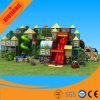 Dschungel-Thema-Plastikinnenspielplatz spielt Gerät