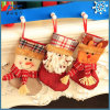 Media de Papá Noel de la media de la decoración de la Navidad/media del muñeco de nieve