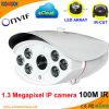 De weerbestendige Camera van het Web Imx238 van IRL P2p1.0 Megapxiel IP