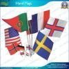 Drapeaux de la main personnalisé, de la main en agitant des drapeaux, drapeau tenue en main
