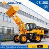 3000kg 중국 공장 유압 돌 물통 바퀴 로더 630