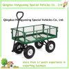 Carro resistente del acoplamiento de la carretilla del jardín