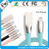 2.1A van het zink van de Legering van de Diamant van de Gelei De Kabel van usb- Gegevens voor iPhone Smartphone