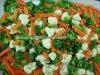 Vegetais misturados congelados para exportação