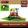 Campo de jogos plástico ao ar livre dos miúdos pequenos da alta qualidade (X1281-1)