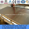 Feuille de l'acier inoxydable 321 avec le film de PVC