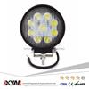 12V 24V 27W Lámpara de las luces LED de trabajo para la carretilla Offroad 4X4 ATV Tractor 60 grados, haz de inundación