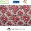 Bela Rose Pattern Poli Algodão tecido Jacquard tecido pano de mesa