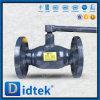 Производитель Didtek ГОСТ фланец полностью сварным шаровой клапан