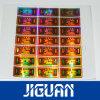 Het Stempelen van de Hoogste Kwaliteit van de douane de Hete Gouden Sticker van het Hologram van de Folie 3D