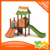 Juego de tierra de la diapositiva del juego al aire libre de los niños pequeño para la venta