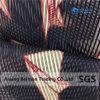 Ткань с возможностью горячей замены 10s стереоскопические полосой Organza, 120 GSM