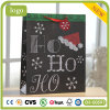 Weihnachtsrotes Reithaube Hohoho Muster-Papierbeutel, Geschenk-Papierbeutel