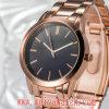 Montre-bracelet occasionnelle de dames de quartz de courroie en cuir d'ODM (Wy-17022)