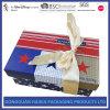 Чувствительная коробка конфетной бумаги с шикарным смычком тесемки