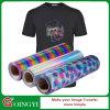 Vinilo especial del traspaso térmico del holograma de Qingyi para la materia textil